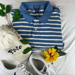 VTG Polo Jeans Company Ralph Striped Shirt 4XL